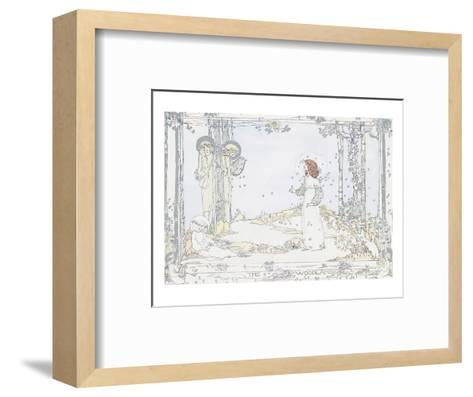 Seven Happy Days-Jessie M. King-Framed Art Print