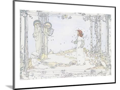 Seven Happy Days-Jessie M. King-Mounted Art Print