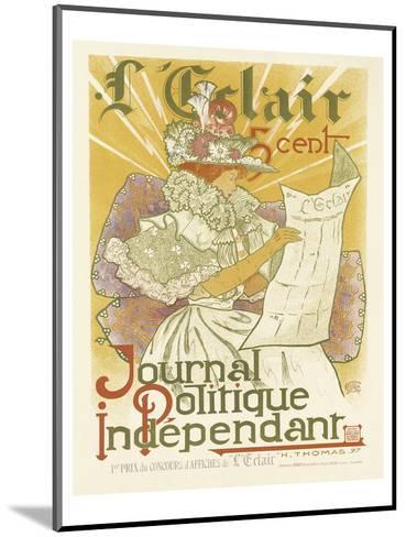 L'Eclair, Journal Politique Independent-H^ Thomas-Mounted Art Print