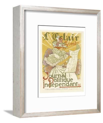 L'Eclair, Journal Politique Independent-H^ Thomas-Framed Art Print