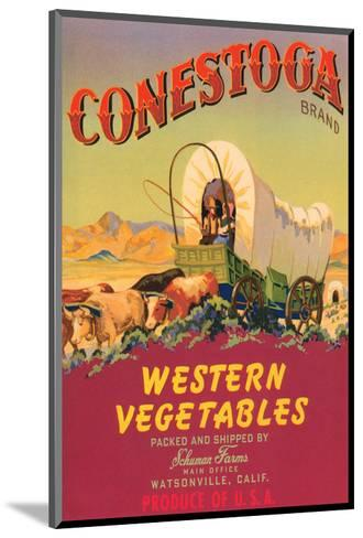 Conestoga Brand Western Vegetables--Mounted Art Print