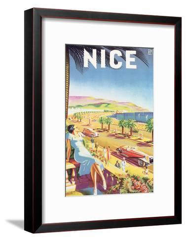 Nice-E^H^ de Hey-Framed Art Print