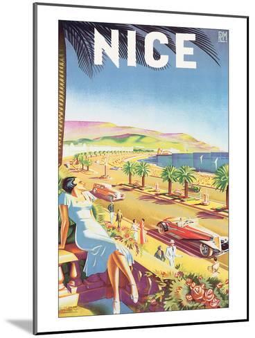 Nice-E^H^ de Hey-Mounted Art Print