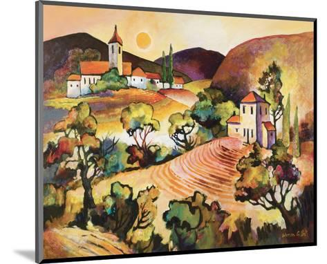 Tuscan Landscape 1-Warren Cullar-Mounted Art Print