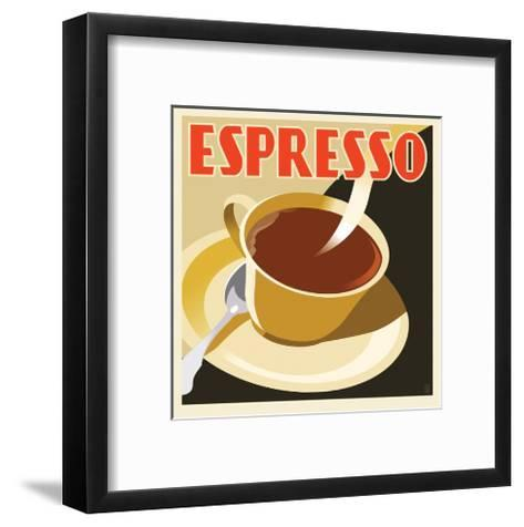 Deco Espresso I-Richard Weiss-Framed Art Print