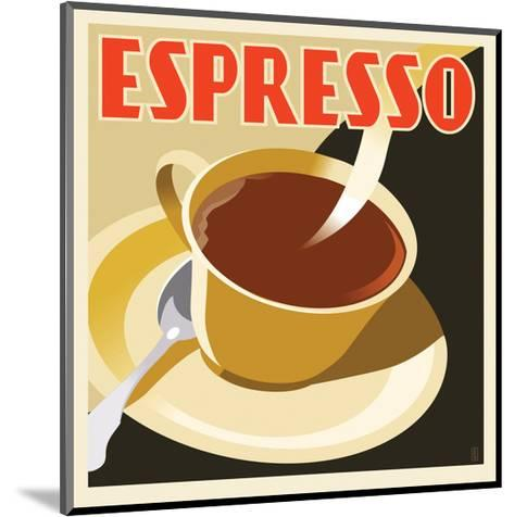Deco Espresso I-Richard Weiss-Mounted Art Print