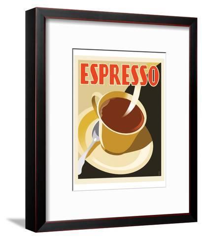 Deco Espresso II-Richard Weiss-Framed Art Print