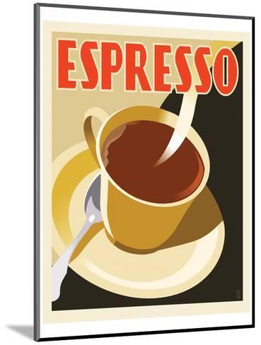 Deco Espresso II-Richard Weiss-Mounted Art Print