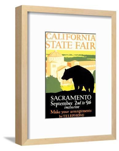 California State Fair, Sacramento--Framed Art Print