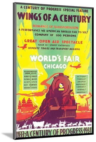 World's Fair, Chicago, Wings of a Century, c.1934--Mounted Art Print