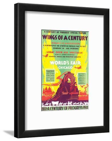 World's Fair, Chicago, Wings of a Century, c.1934--Framed Art Print