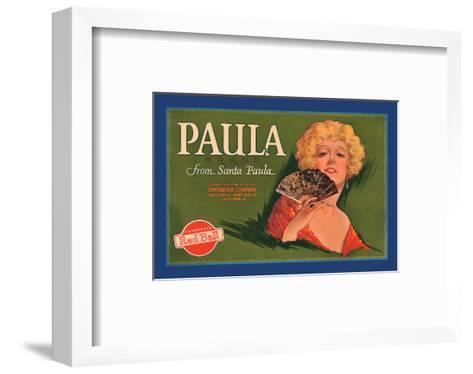 Paula Brand--Framed Art Print