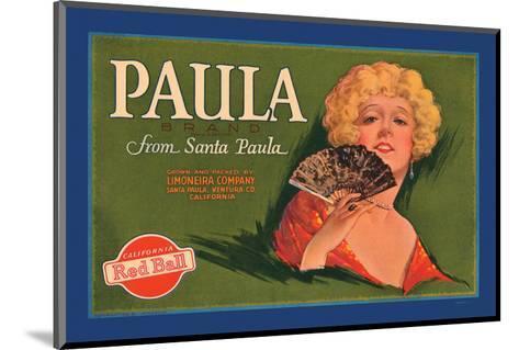 Paula Brand--Mounted Art Print