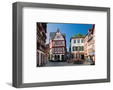 Mainz - Augustinergasse--Framed Art Print