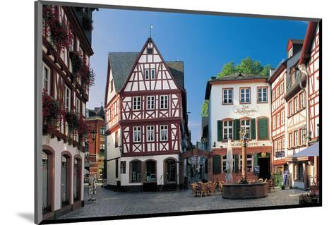 Mainz - Augustinergasse--Mounted Art Print