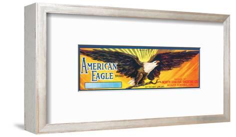 American Eagle Brand--Framed Art Print