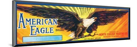 American Eagle Brand--Mounted Art Print