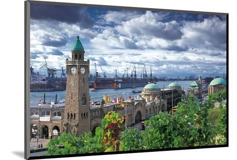 Hamburg Port - Landungsbr?cken--Mounted Art Print