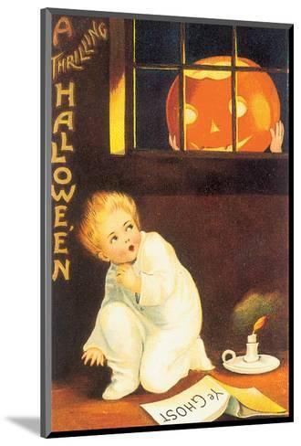 A Thrilling Halloween--Mounted Art Print