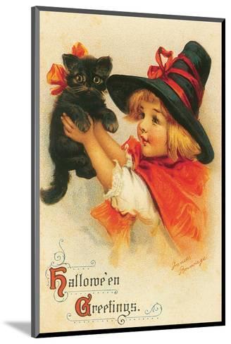 Halloween Greetings-Frances Brundage-Mounted Art Print