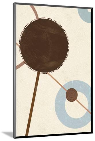 Sandy Improvisation No. 2-George Wassily-Mounted Art Print