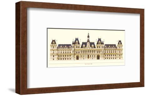Paris, Hotel de Ville-Libero Patrignani-Framed Art Print