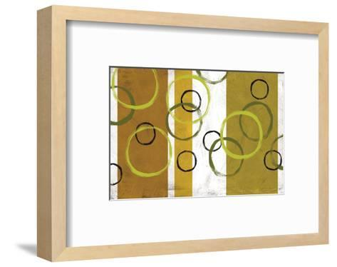 Rings & Stripes I-Franz Kandiny-Framed Art Print