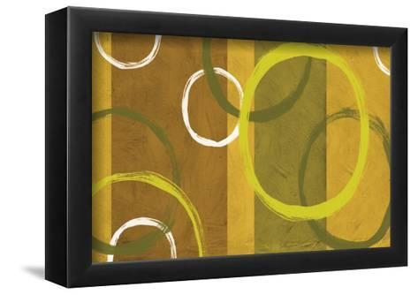 Rings and Stripes II-Franz Kandiny-Framed Art Print