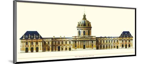 Paris, Institut de France-Libero Patrignani-Mounted Art Print