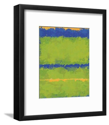 No. 1967 Olive Green Blue-Carmine Thorner-Framed Art Print