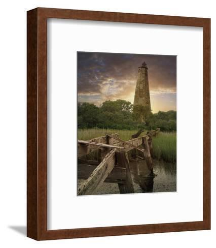 Old Baldy II-Steve Hunziker-Framed Art Print