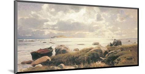 On the Coast of Ruegen-Eugen Bracht-Mounted Art Print