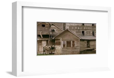 Sunday At The Mill-Steve Hunziker-Framed Art Print