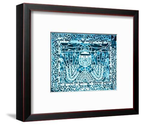 Serve Him, Cling to Him--Framed Art Print