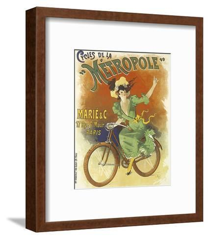 Cycles de La Metropole-Lucien Baylac-Framed Art Print