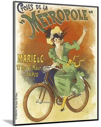 Cycles de La Metropole-Lucien Baylac-Mounted Art Print