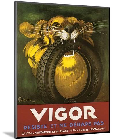 Vigor, Resiste Et Ne Derape Pas--Mounted Art Print