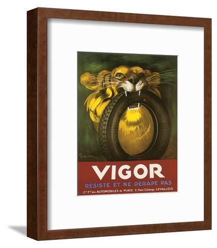 Vigor, Resiste Et Ne Derape Pas--Framed Art Print