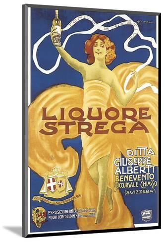 Liquore Strega-Alberto Chappuis-Mounted Art Print