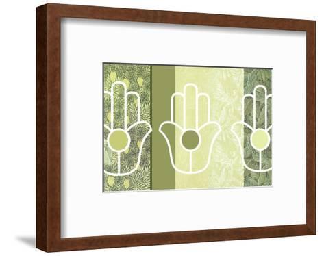 Hamsa Forest--Framed Art Print