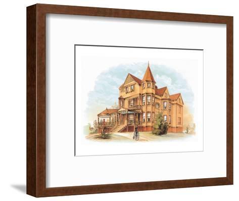 Victorian House, No. 20--Framed Art Print