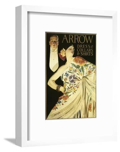 Arrow Dress Collars and Shirts-Joseph Christian Leyendecker-Framed Art Print