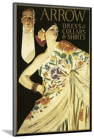 Arrow Dress Collars and Shirts-Joseph Christian Leyendecker-Mounted Art Print