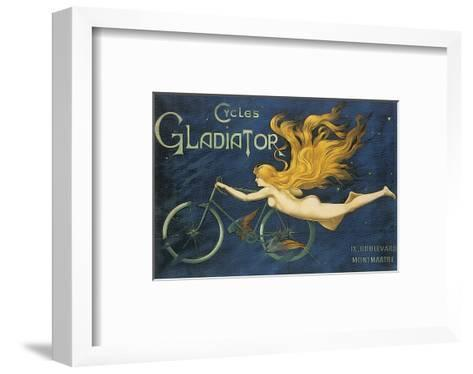 Cycles Gladiator--Framed Art Print
