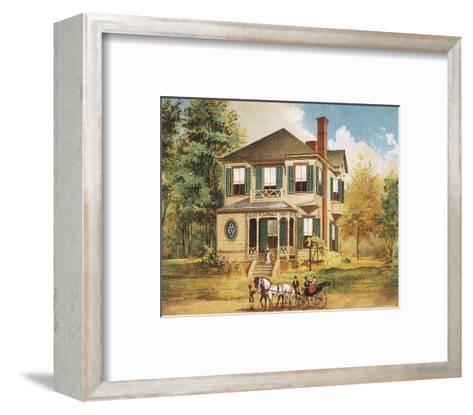 Victorian House, No. 10--Framed Art Print