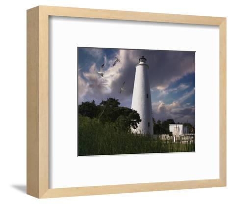 Ocracoke Light I-Steve Hunziker-Framed Art Print