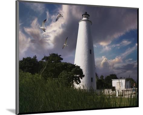 Ocracoke Light I-Steve Hunziker-Mounted Art Print