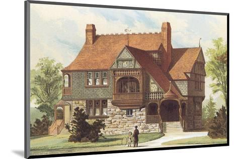 Victorian House, No. 15--Mounted Art Print