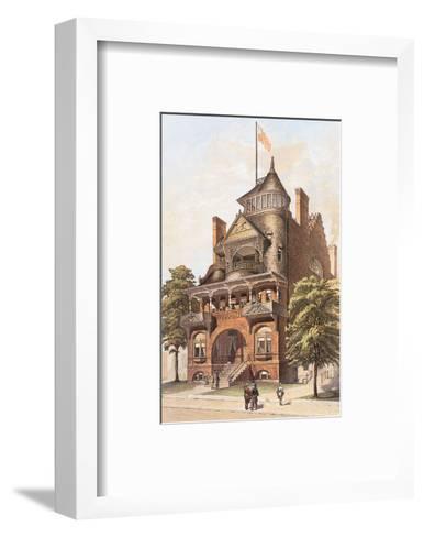 Victorian House, No. 4--Framed Art Print