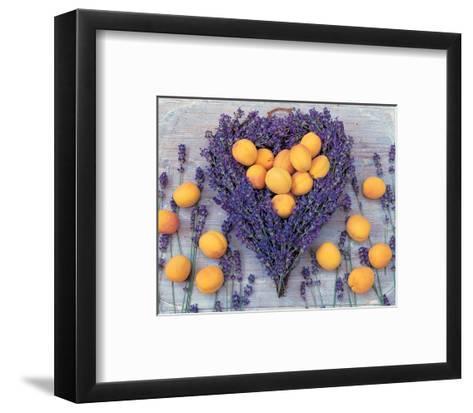 Lavender and Abricot--Framed Art Print